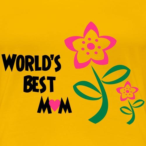 World's Best Mum - Women's Premium T-Shirt