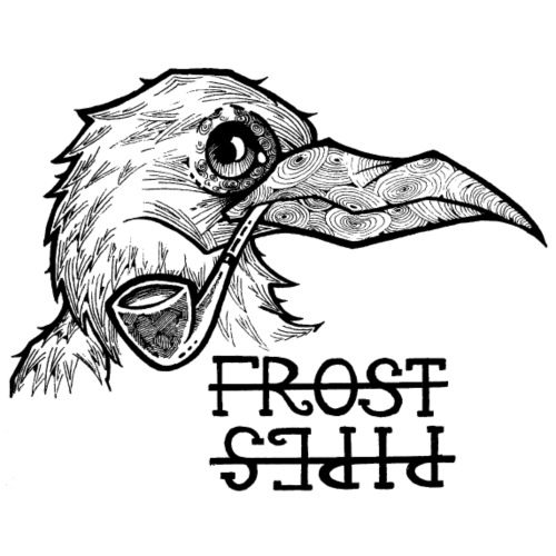 Frost Pipes The Crow - Women's Premium T-Shirt
