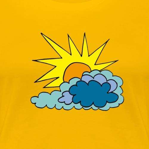 amanecer2 - Camiseta premium mujer