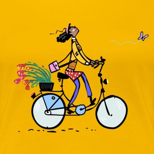 Gute Laune - Frauen Premium T-Shirt