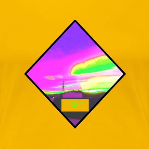 NeonfarbenNuceSKY ValCO - Frauen Premium T-Shirt