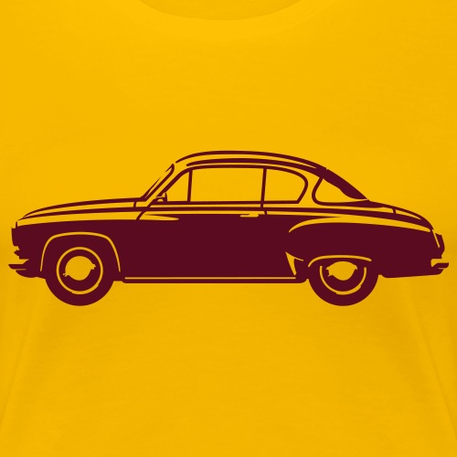 Classic car Coupe - Women's Premium T-Shirt