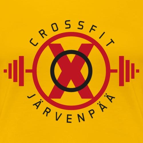 Crossfit Järvenpää - Naisten premium t-paita