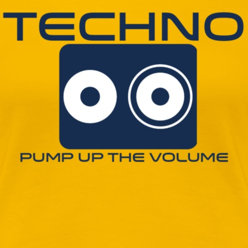 Techno - Vrouwen Premium T-shirt