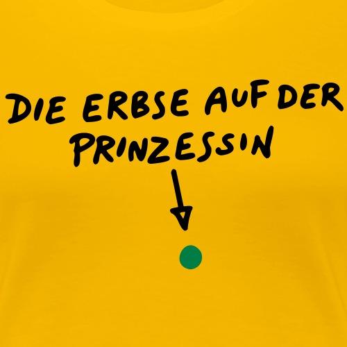 die_erbse_auf_der_prinzessin2 - Frauen Premium T-Shirt
