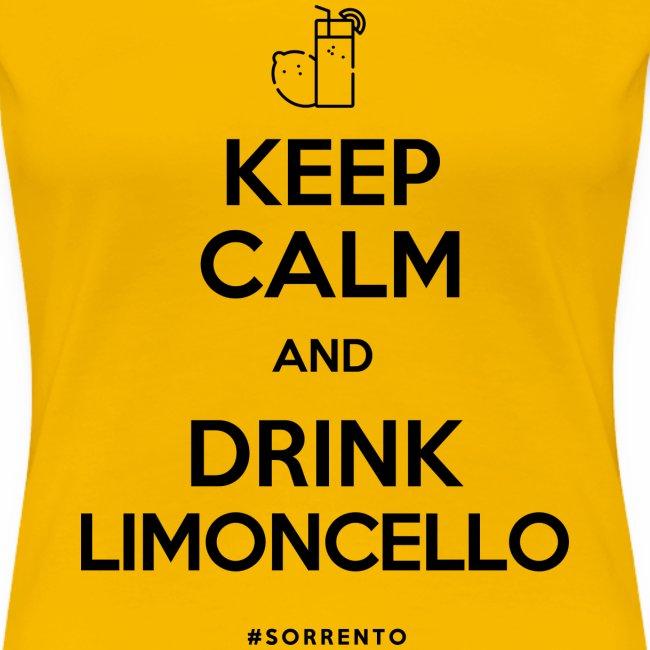 Restez calme et buvez du Limoncello