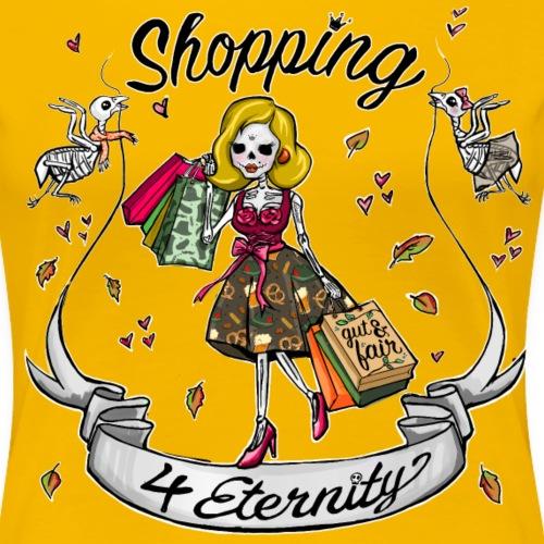 Shopping für immer & ewig, Herbst-Liebe - Frauen Premium T-Shirt