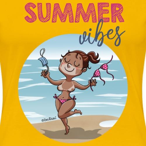 SUMMER vibes - Camiseta premium mujer