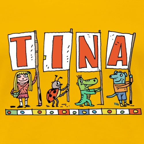 Tina - Frauen Premium T-Shirt
