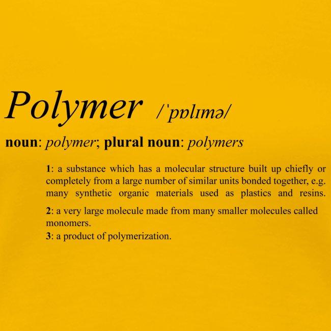 Polymer definition.