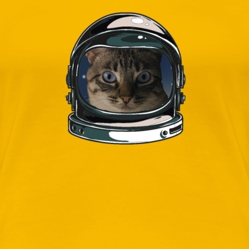 catstronaut2 - Frauen Premium T-Shirt