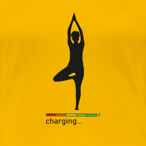 Yoga pose - Women's Premium T-Shirt