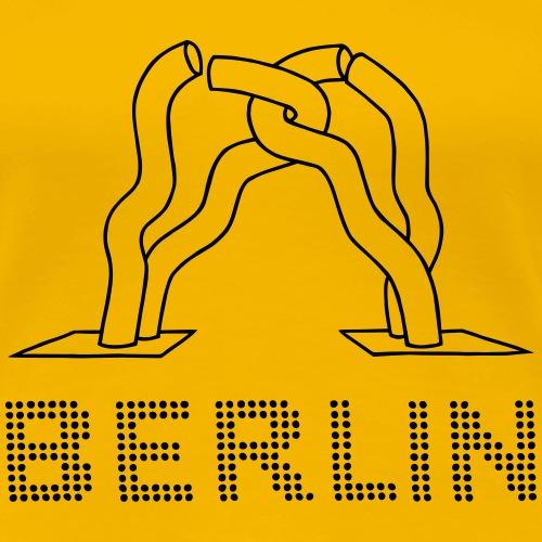 Berlino Scultura Kurfürstendamm - Maglietta Premium da donna