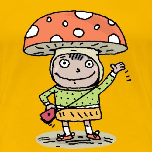 Glückskind - Frauen Premium T-Shirt