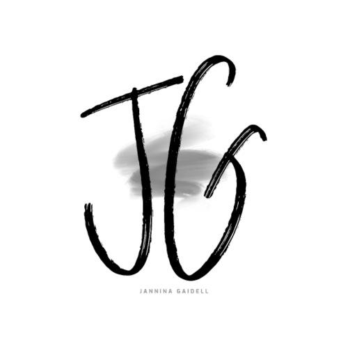 JG - JANNINA GAIDELL BRAND LOGO SHIRT - Frauen Premium T-Shirt