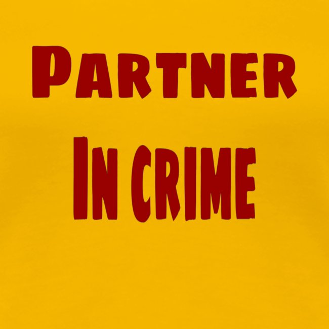 Partner in crime red