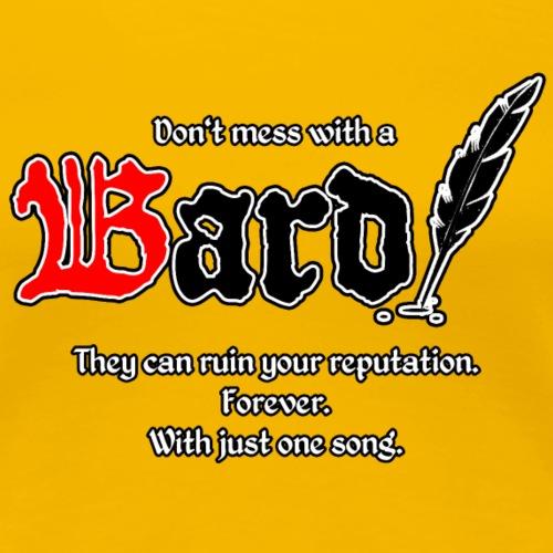 Bard! mit Slogan