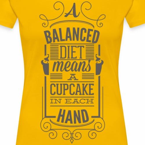 Balance Diät - Frauen Premium T-Shirt