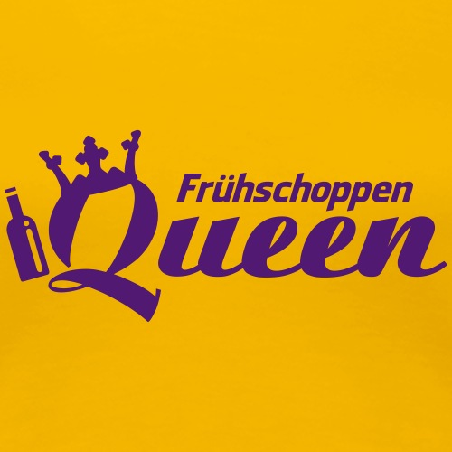 Frühschoppen Queen - Frauen Premium T-Shirt