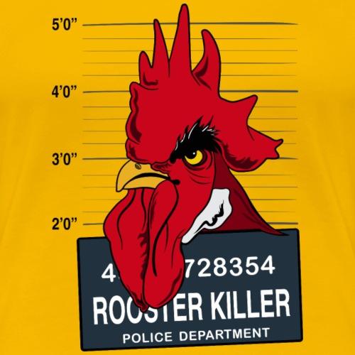 rooster killer - Maglietta Premium da donna