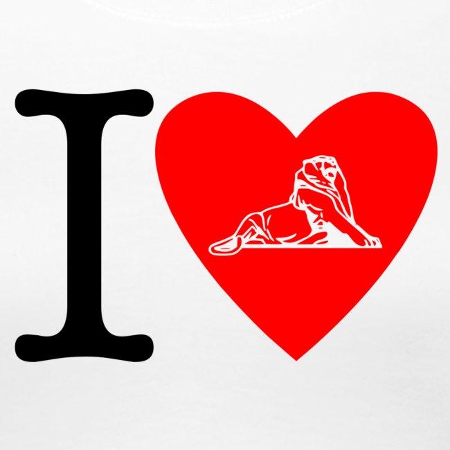 I love Belfort Lion