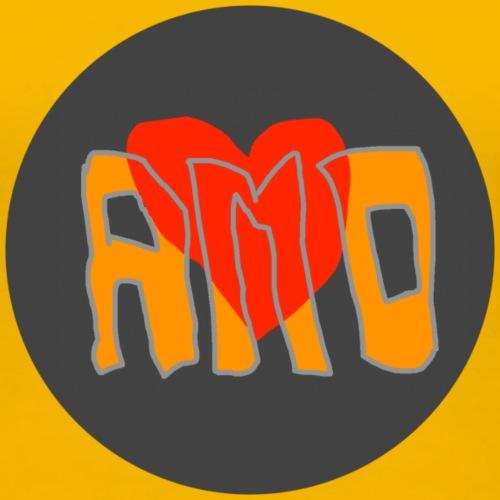 AMO Stiefmütterchen - Frauen Premium T-Shirt