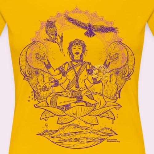 Lakshmi - Frauen Premium T-Shirt