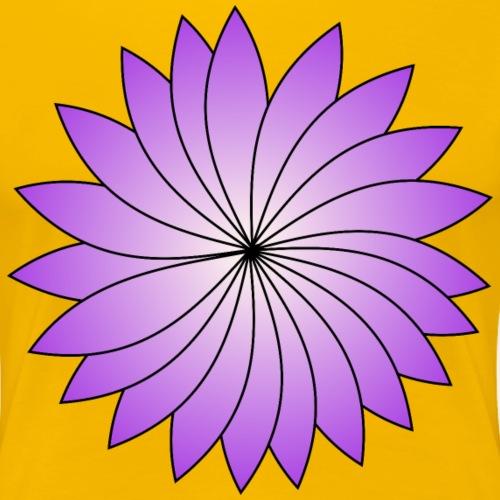 flower violett nc - Women's Premium T-Shirt