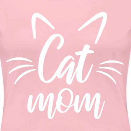 Wir lieben Katzen CatMom - Frauen Premium T-Shirt