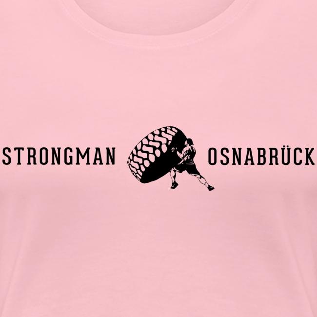 Strongman Logo schwarz