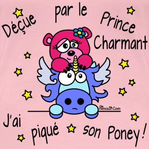 Licorne Prince Charmant - T-shirt Premium Femme