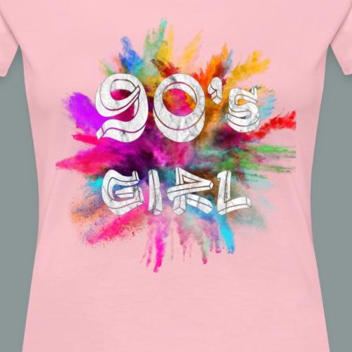 90 s girl - Frauen Premium T-Shirt