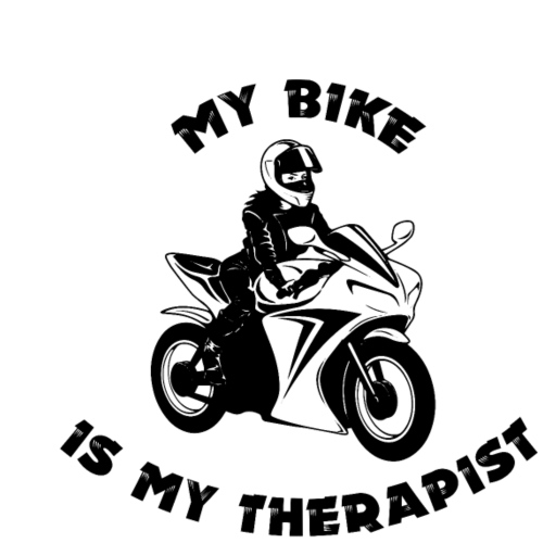 My bike is my therapist
