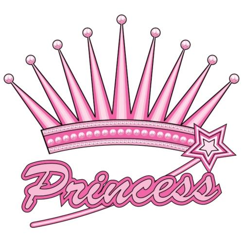 Pink Princess Crown - Women's Premium T-Shirt