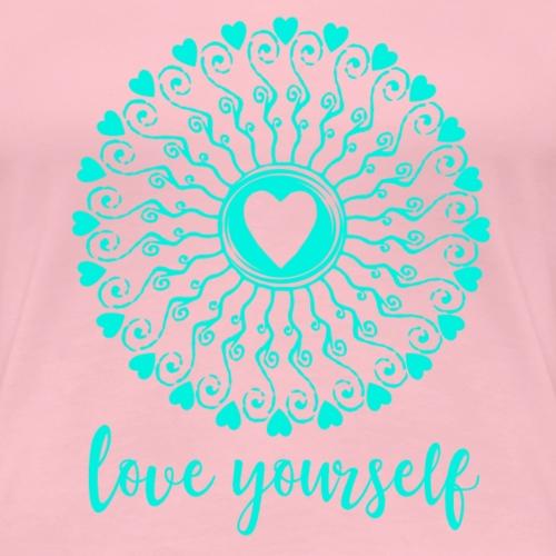 Love yourself - Frauen Premium T-Shirt
