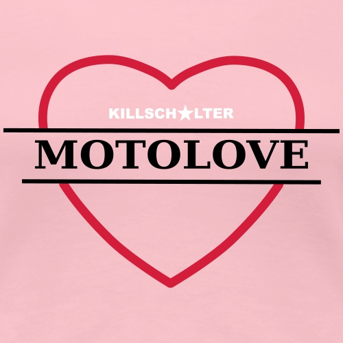 MOTOLOVE 9ML02 B - Women's Premium T-Shirt