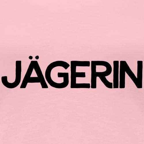 einfach Jägerin-Shirt - Frauen Premium T-Shirt