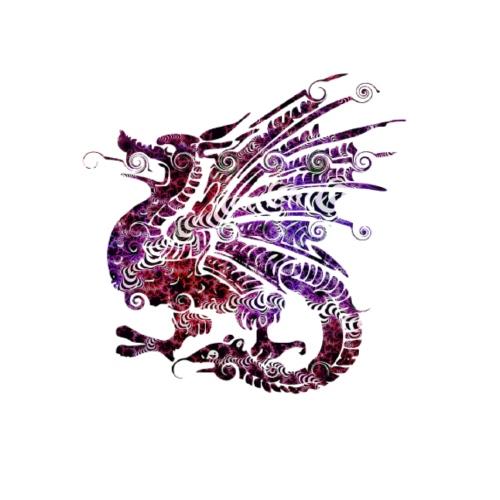 Dragon couleur design