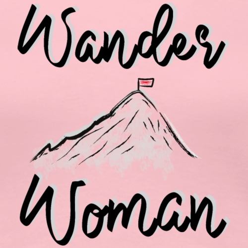 Wanderwoman - Frauen Premium T-Shirt