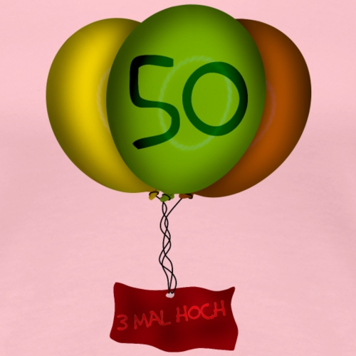Geburtstag - 50 Jahre - Frauen Premium T-Shirt