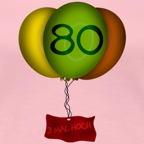 Geburtstag - 80 Jahre - Frauen Premium T-Shirt