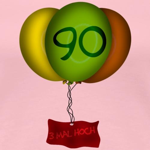 Geburtstag - 90 Jahre - Frauen Premium T-Shirt