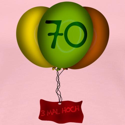 Geburtstag - 70 Jahre - Frauen Premium T-Shirt