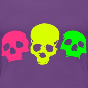 skulls-on-parade - Women's Premium T-Shirt