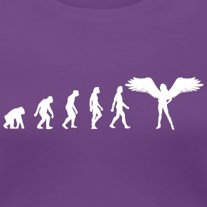 Die Evolution der Engel - Frauen Premium T-Shirt