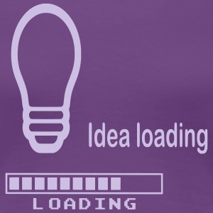 Idea Loading - Frauen Premium T-Shirt
