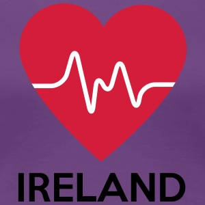 heart Ireland - Women's Premium T-Shirt