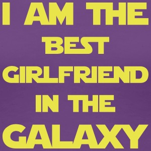I am the best girlfriend in the galaxy! - Frauen Premium T-Shirt