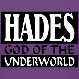 Hades _-_ God_Of_The_Underworld - Camiseta premium mujer