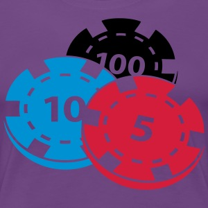 Poker chips - Women's Premium T-Shirt